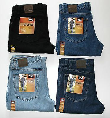 New Fit Jeans Men's Sizes Four Lee Collection