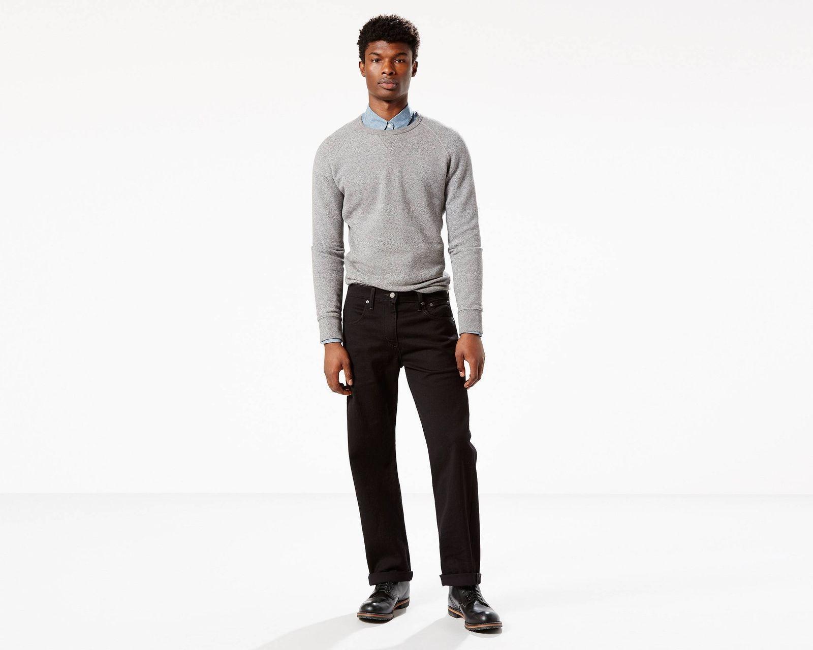 New Men's Leg -Black