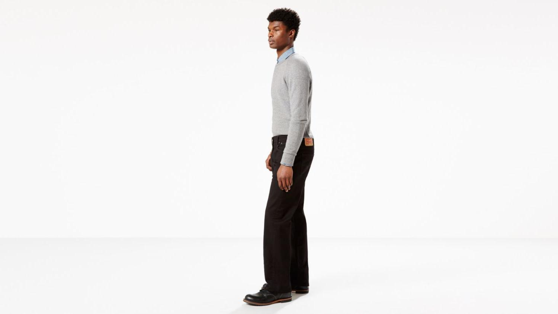 New Levi's 569-0125 Stretch Leg -Black
