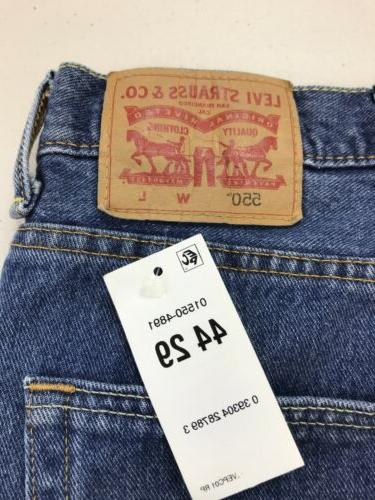 NEW Straight Denim Jeans Sz 44X29