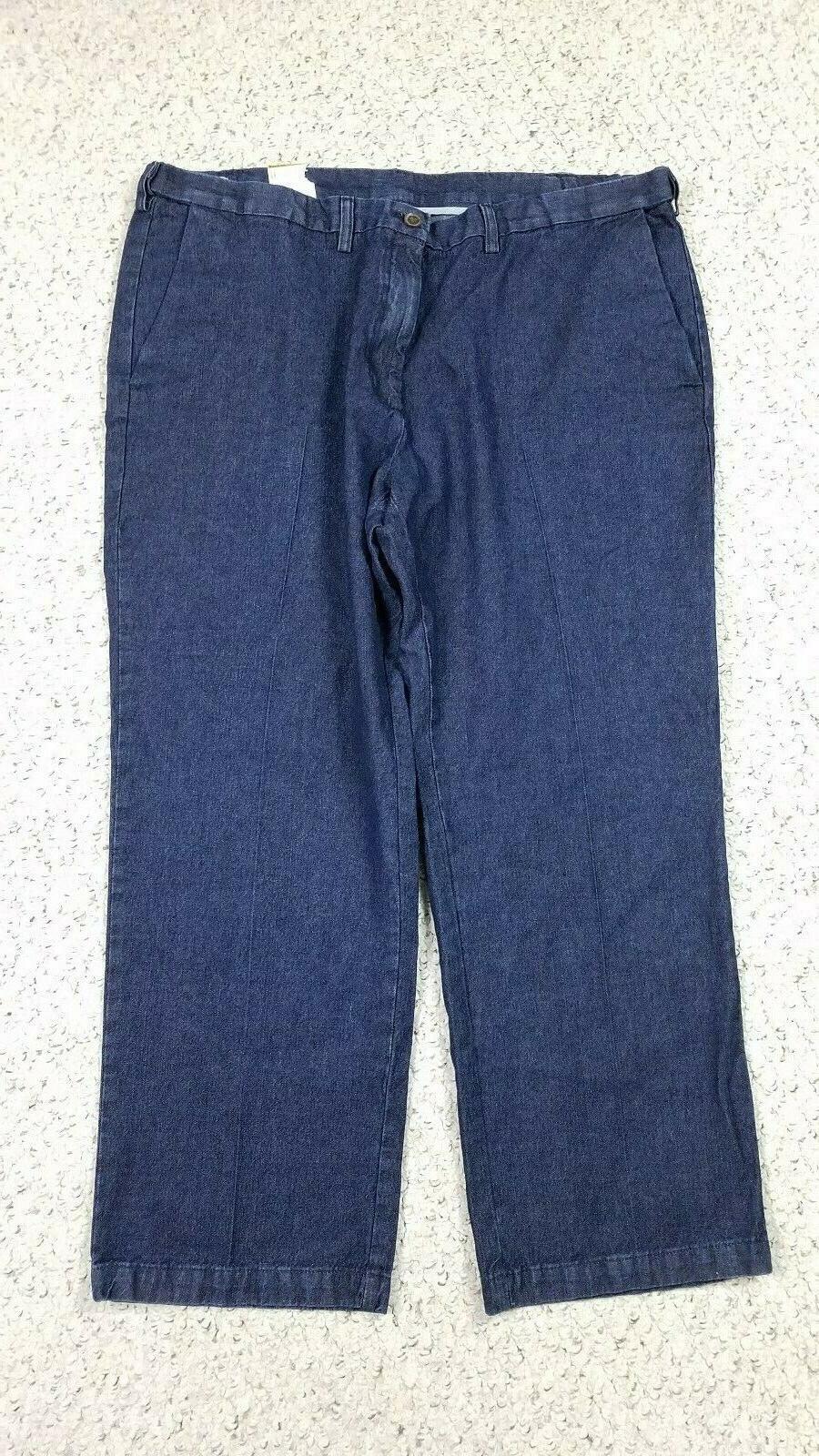 NEW Men's Fit Dark Trouser Blue Work Weekend