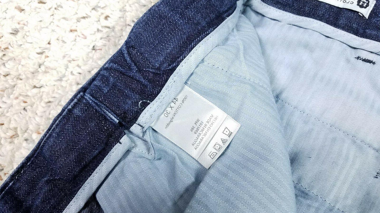 NEW Haggar Fit Dark Wash Blue 44x30 Work