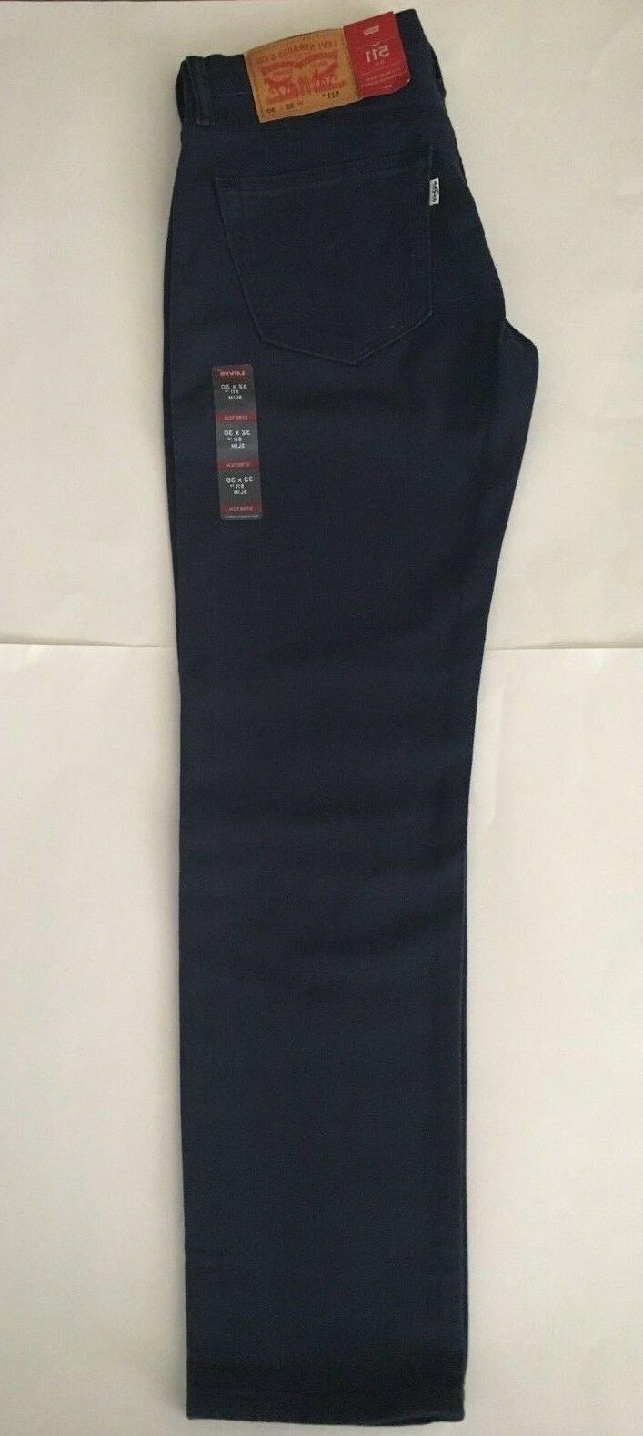 NEW Men's Levi's Slim Fit Dress Blues $69