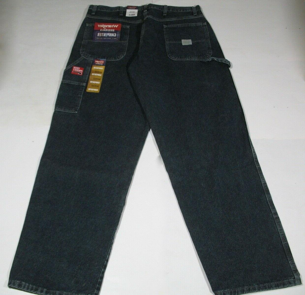 NEW Men's Wrangler Carpenter Jeans x 32 With Tags