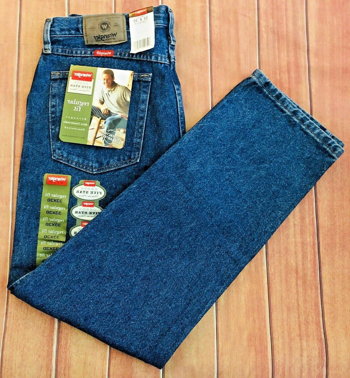New Regular Denim Jeans
