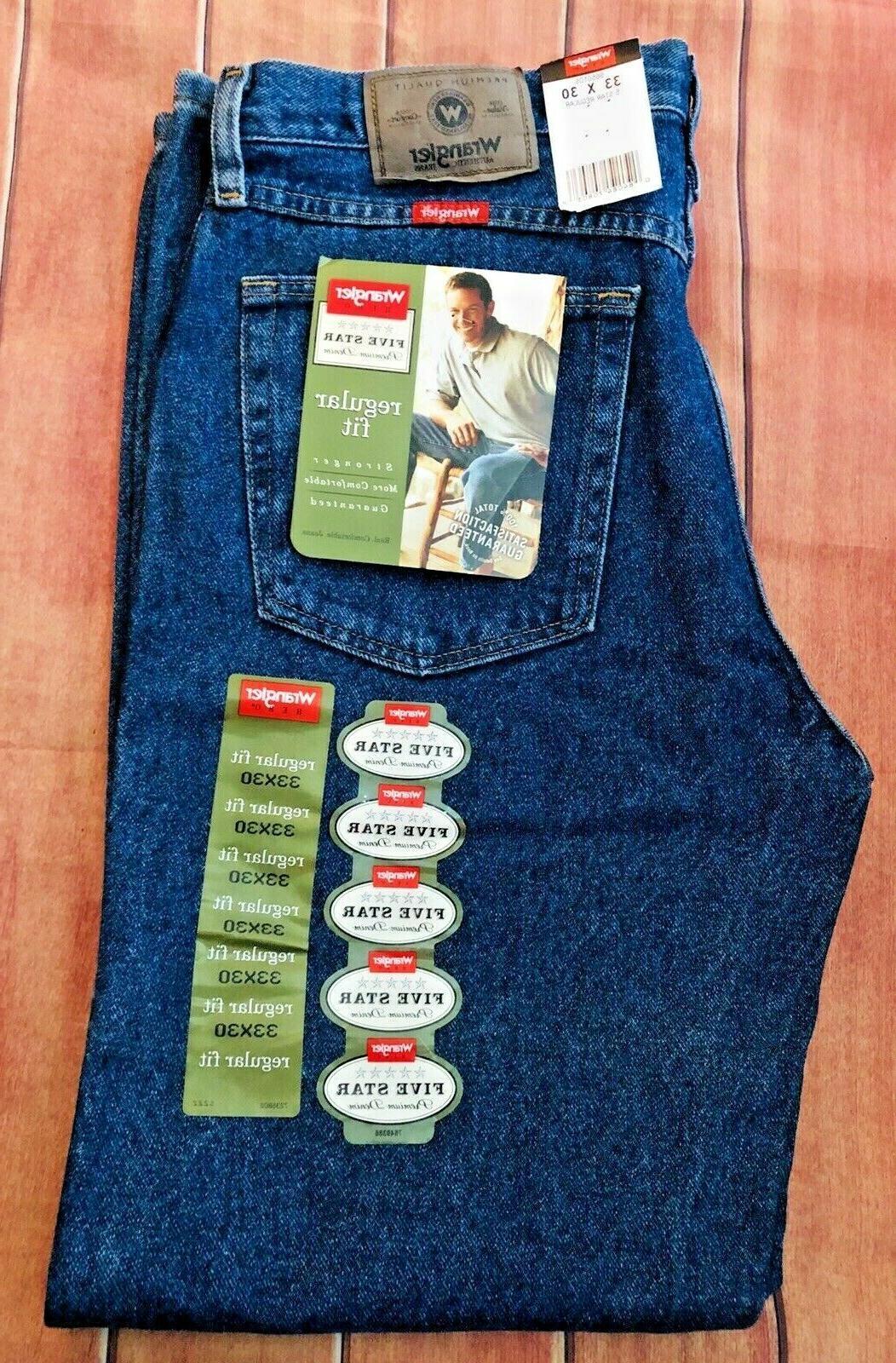 New Men's Fit Star Premium Denim Jeans NWT