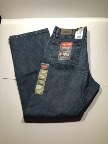 new men s relaxed bootcut jeans denim