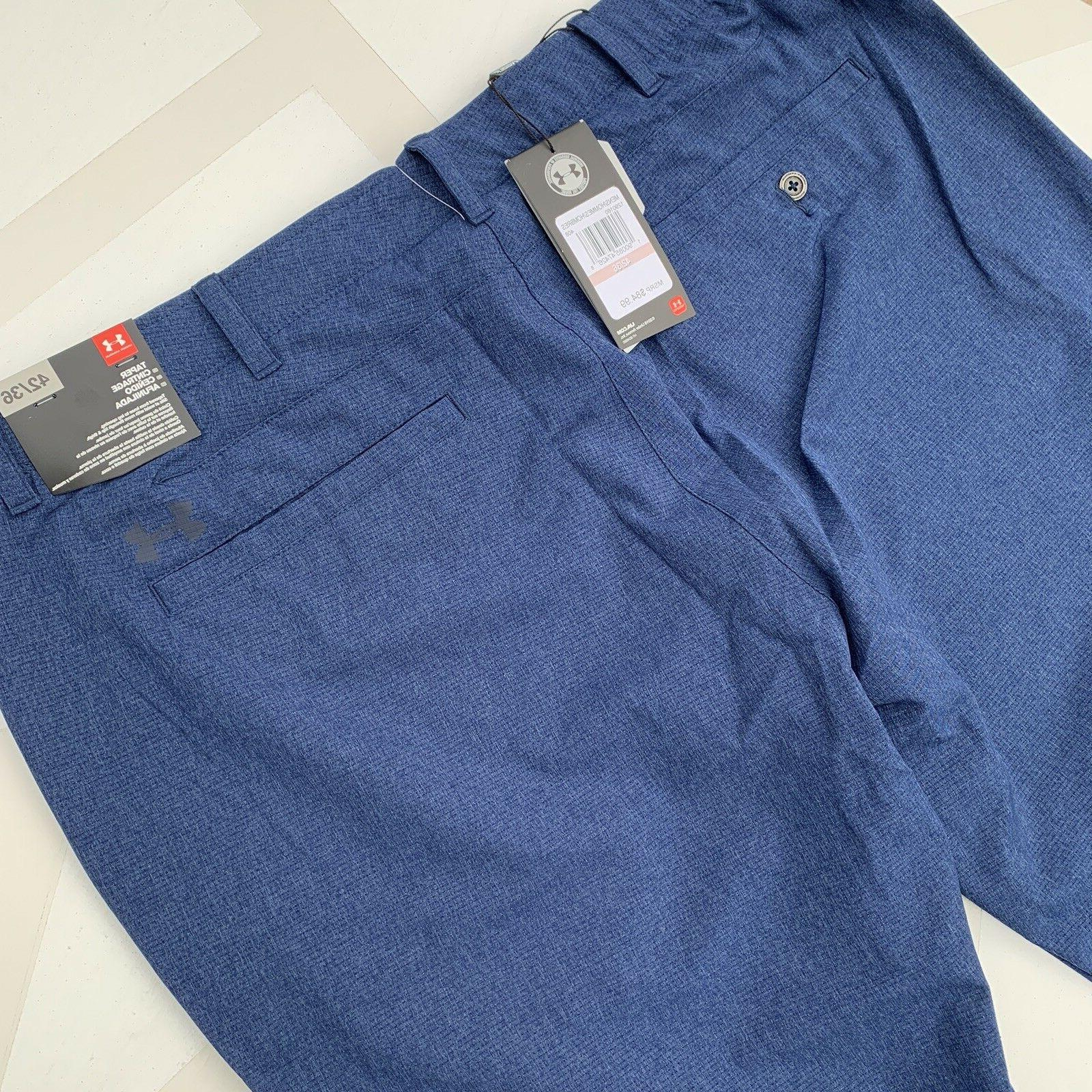 NEW Under Armour Size 42x36 Fit Match Navy