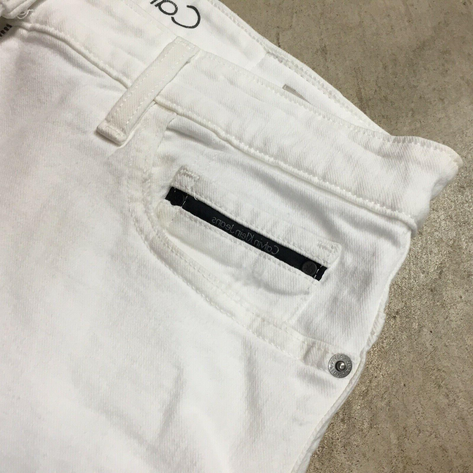 NEW mens Calvin Klein jeans fit distressed 810