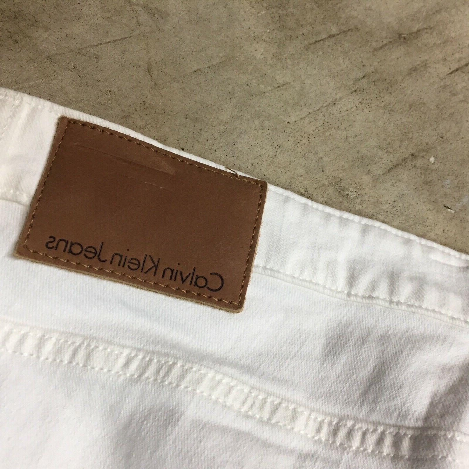 NEW mens Calvin jeans slim distressed