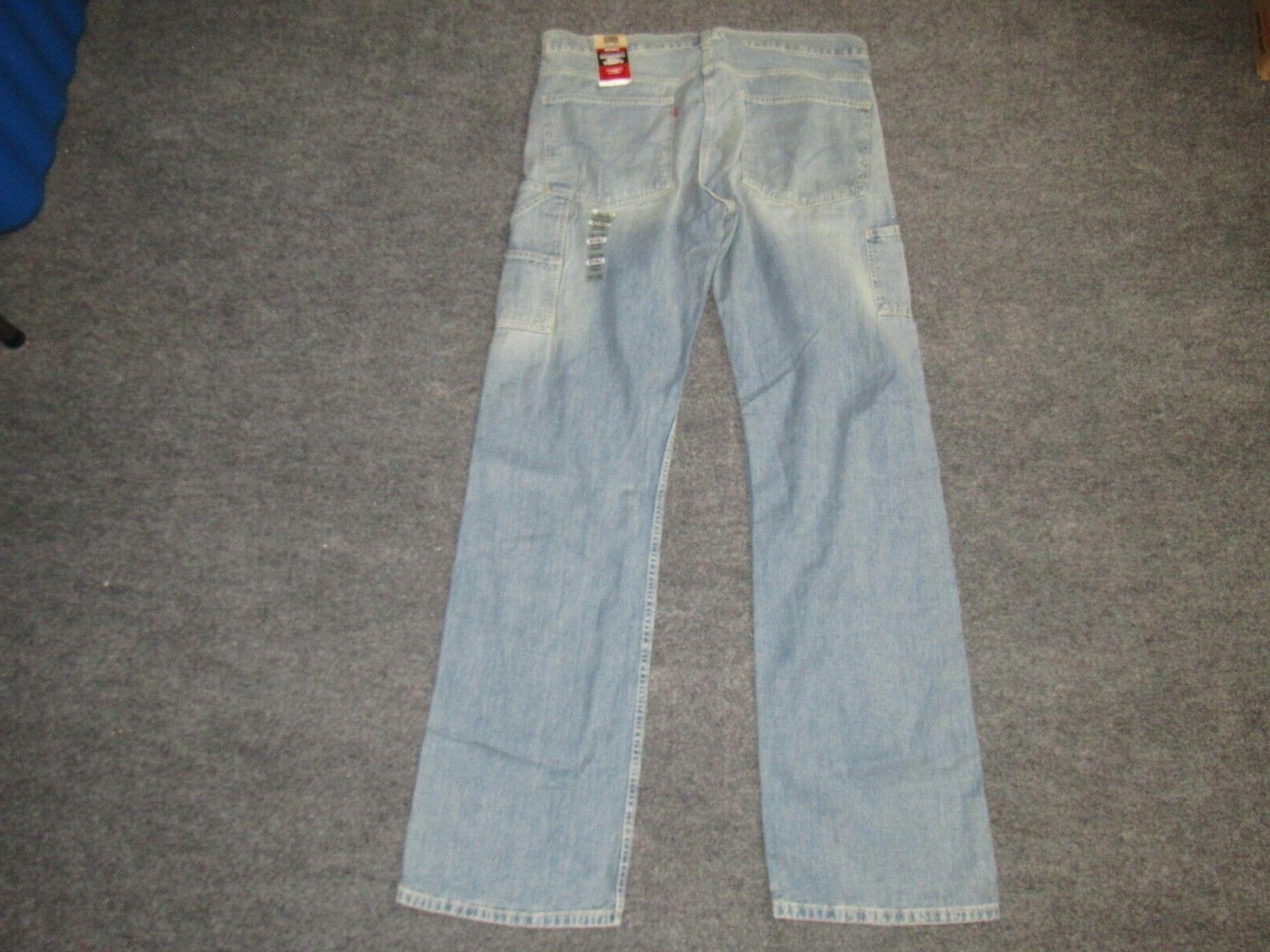 NEW MENS LEVI'S JEANS sz 38x38 nwt LOOSE FIT #1
