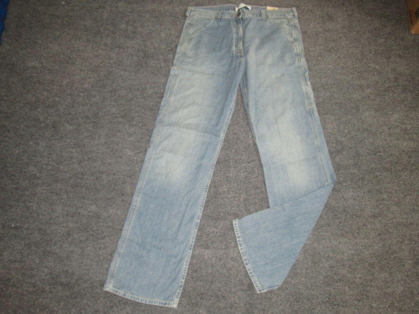 new mens levi s carpenter jeans sz