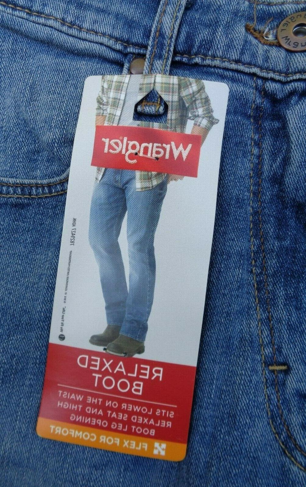 NEW Wrangler Fit Denim Jeans X 32 NWT