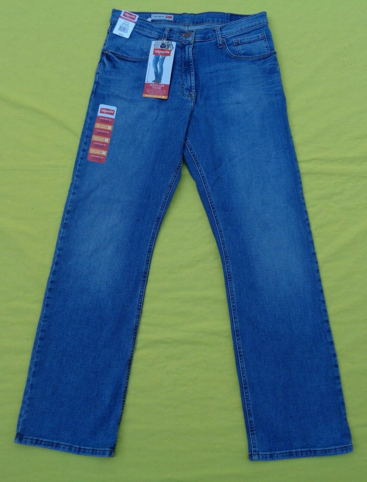 new mens relaxed fit boot cut flex