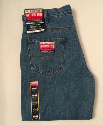 new mens rugged heavy duty workwear blue