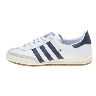 New MENS ADIDAS JEANS LEATHER Retro