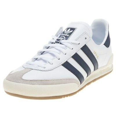 new mens white jeans leather sneakers retro