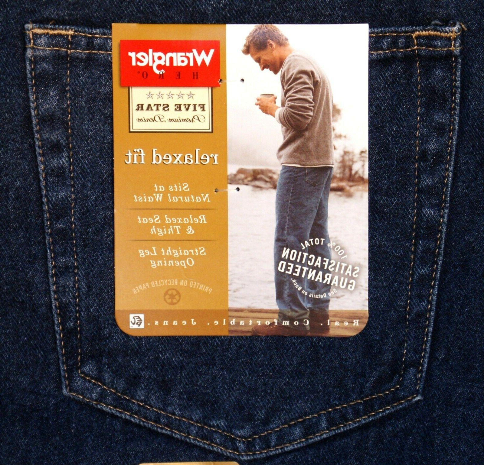 Relaxed Jeans Men`s Four Colors Available