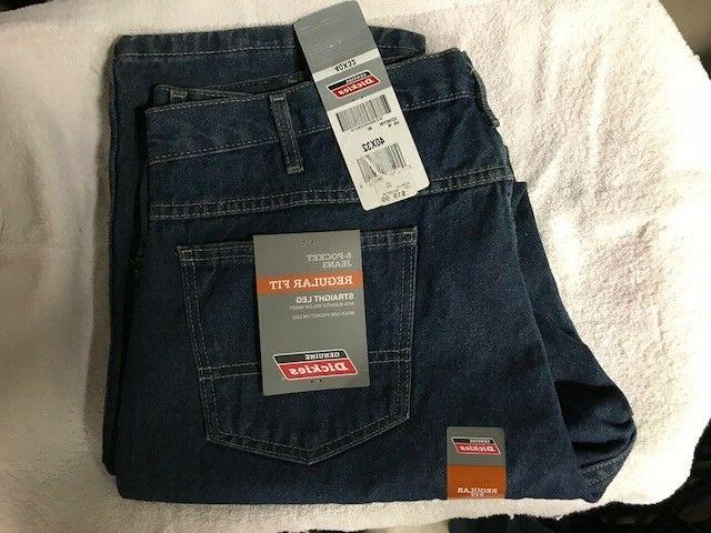 New with tags - Genuine Dickies blue jeans - Men's regular f