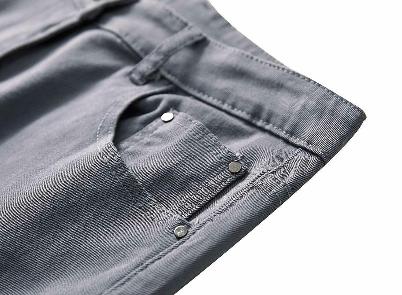 NITAGUT Skinny Fit Leg Fashion Pants