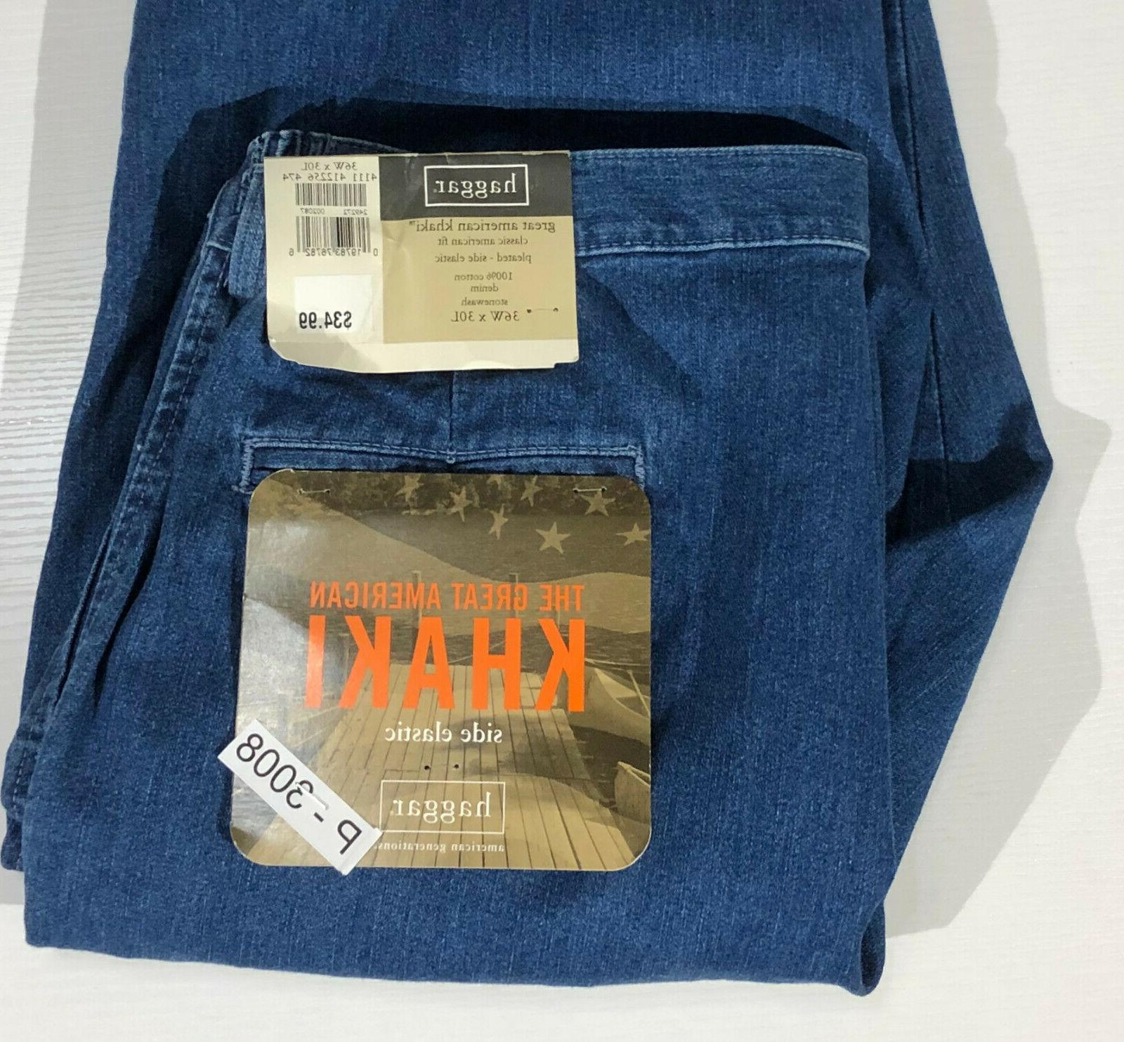 NWT $34.99 36 Pleated Khakis