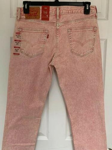 💥NWT Mens 511 Jeans Pants Slim