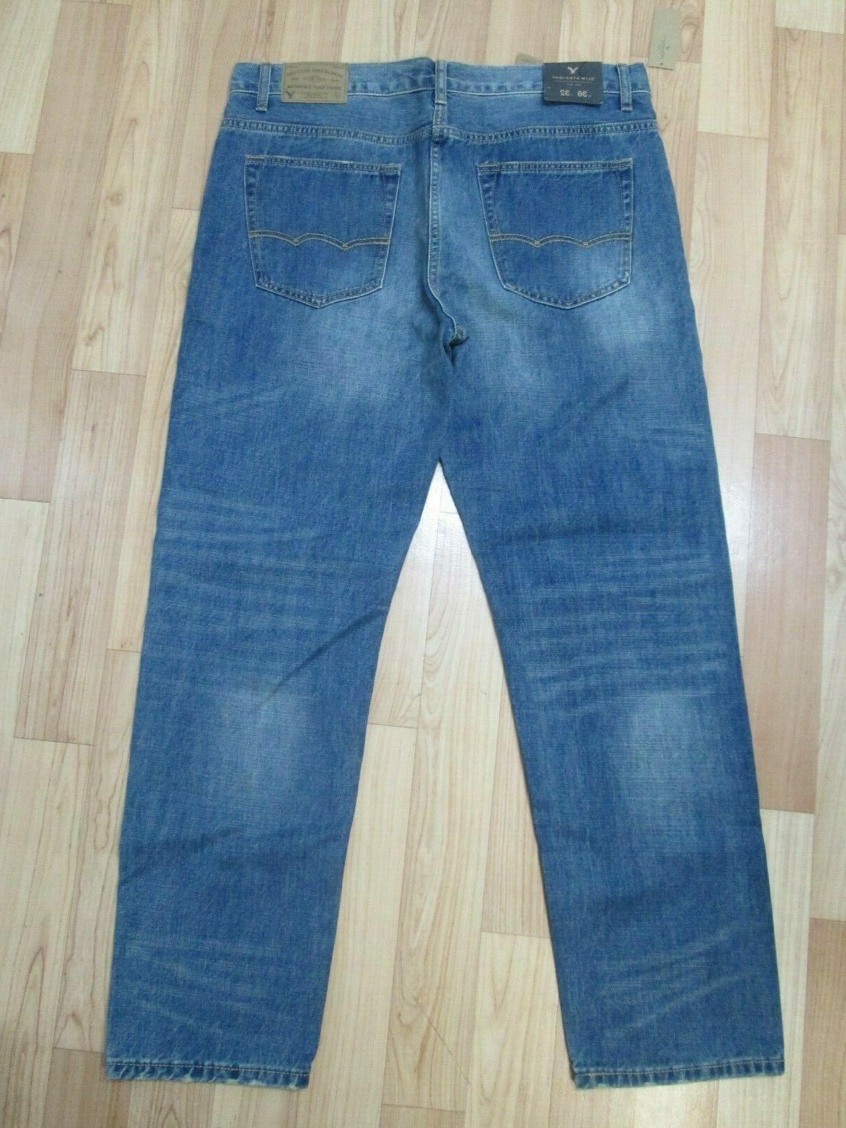 NWT American Medium Wash Tinted Slim Jeans 36/32