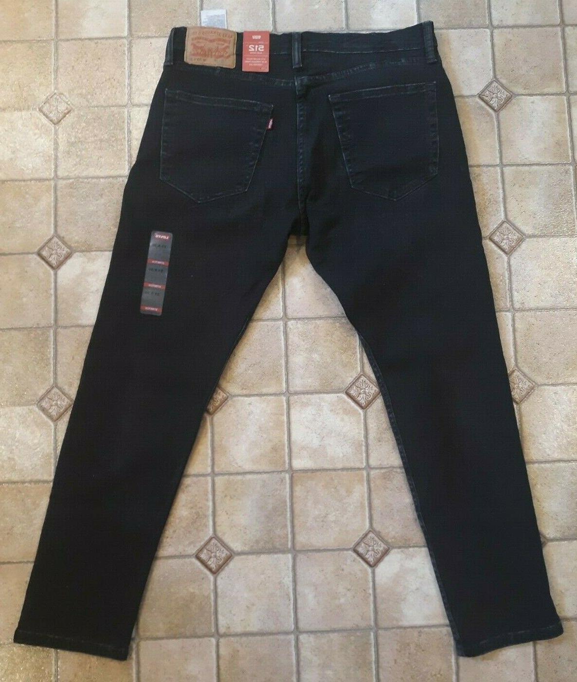 NWT Jeans Men's 512 Slim Taper x