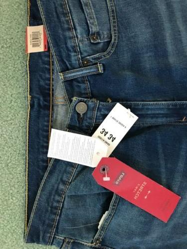 "NWT LEVI'S MED. STRAIGHT STRETCH 34""x34"""
