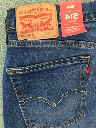 NWT LEVI'S MED. STRETCH