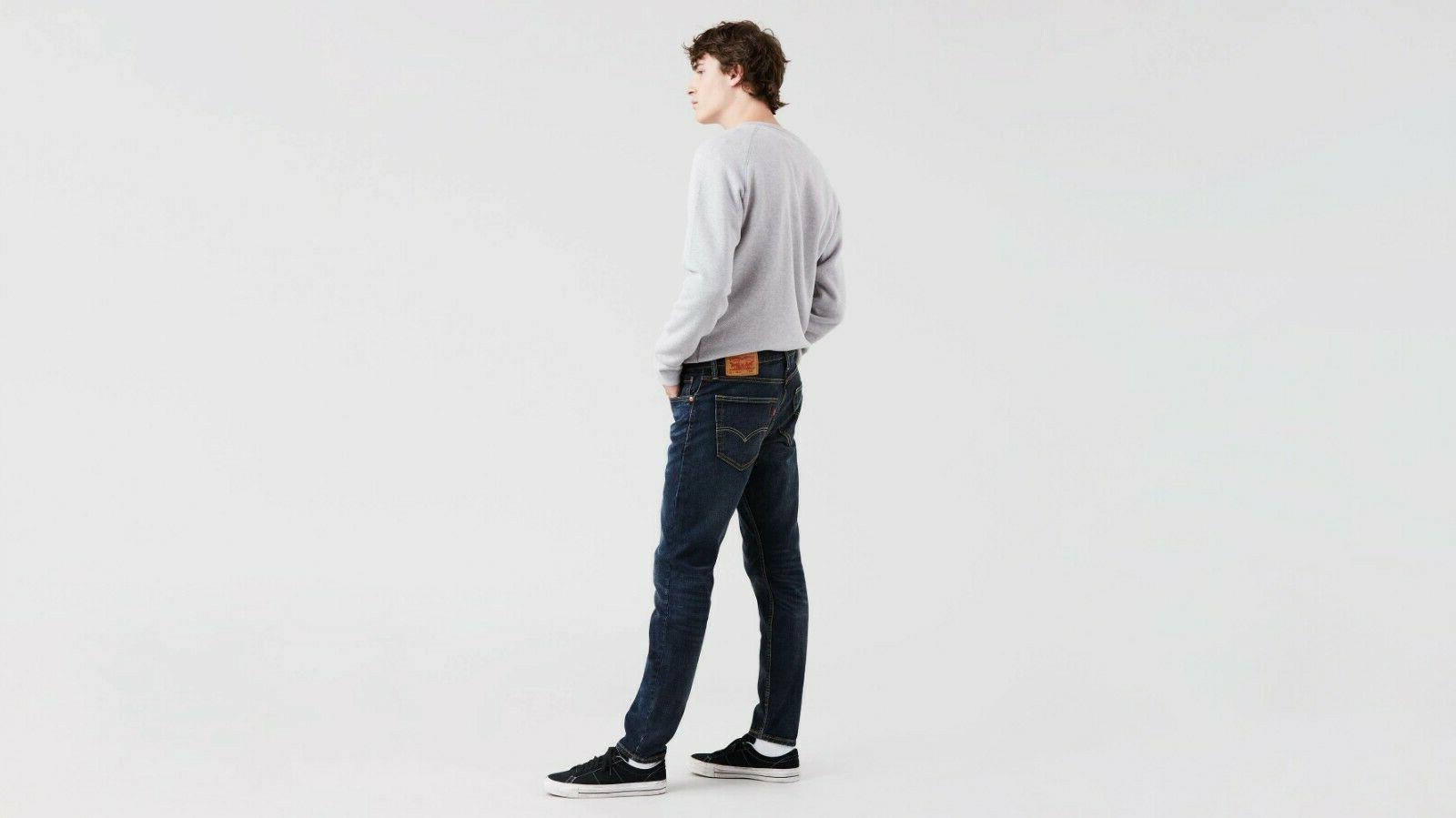 NWT 512 Slim Jeans Stretch Dark Blue
