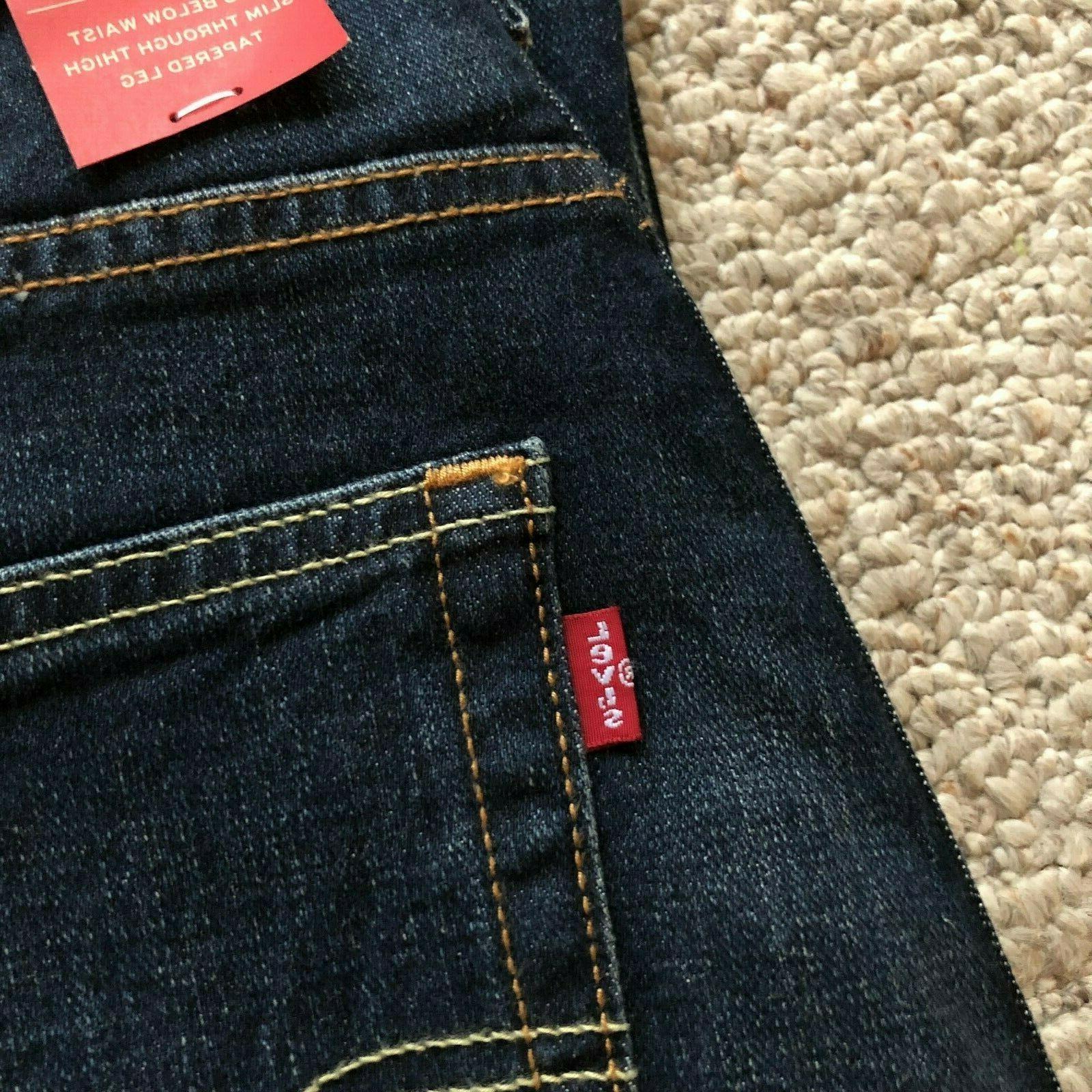 NWT 512 Slim Fit Jeans Dark Blue