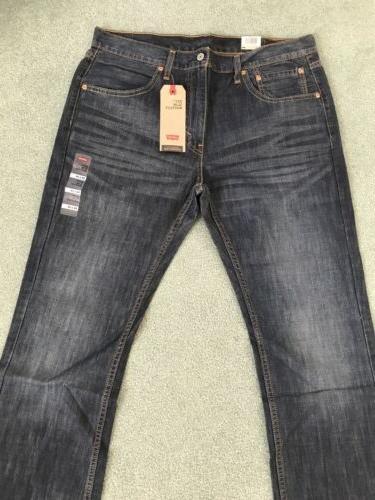 NWT Levi's Boot Cut Men's Wash Jeans Size