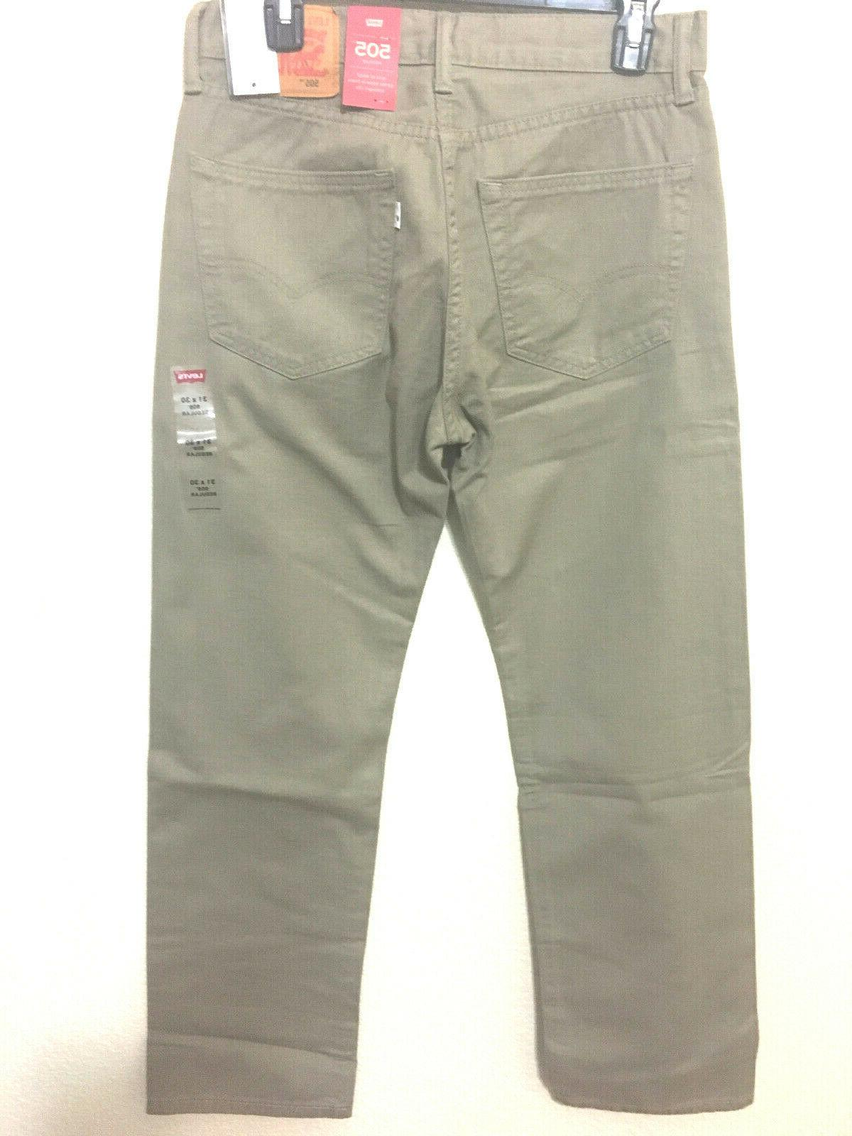 NWT MEN - 0718 STRAIGHT DENIM WOLF
