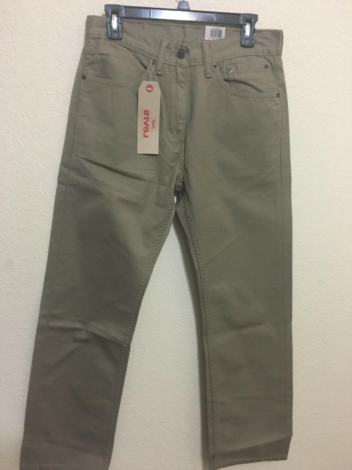 NWT - 0718 REGULAR STRAIGHT JEANS PANT DENIM