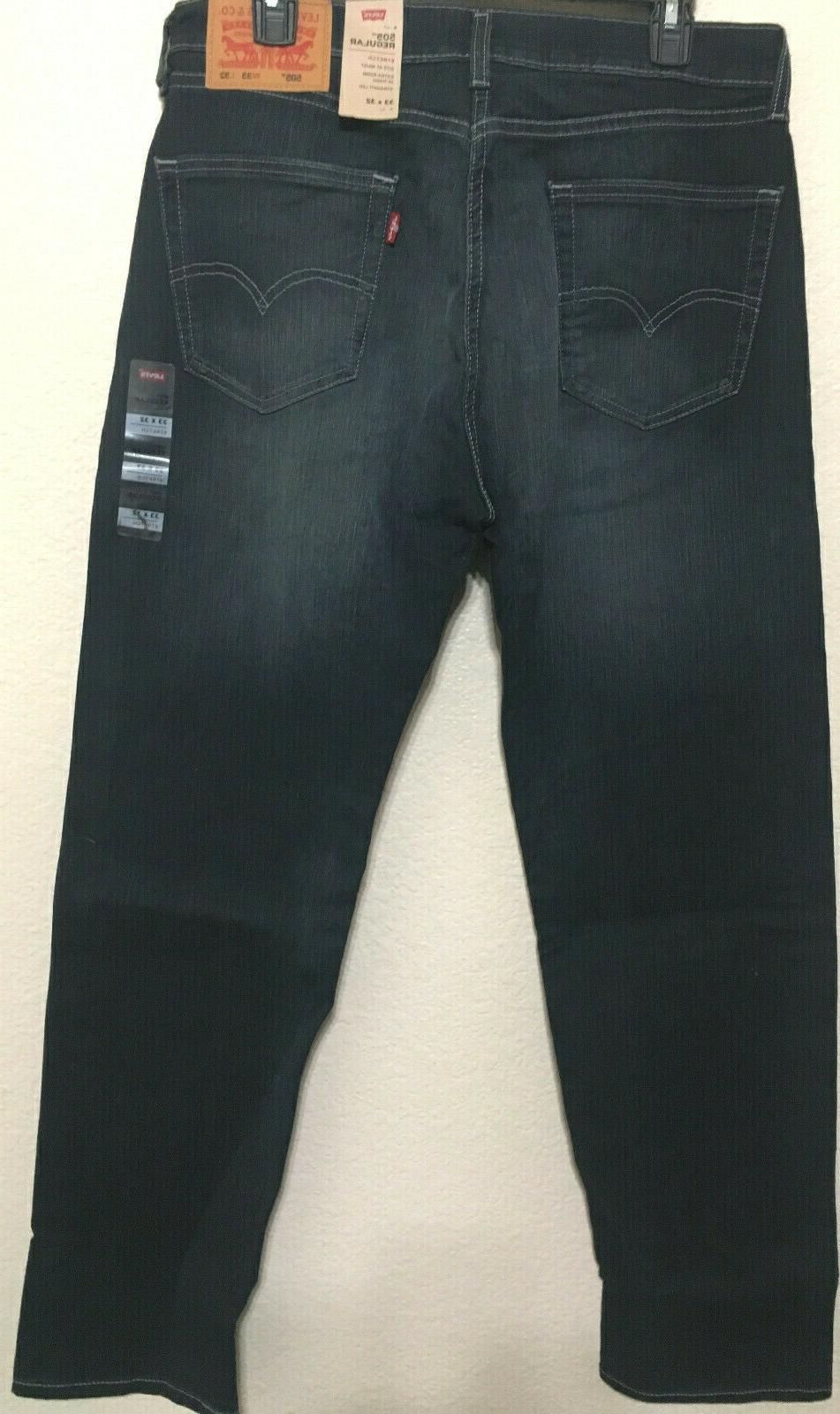 NWT 1330 FIT STRAIGHT LEG D.BLUE STRETCH