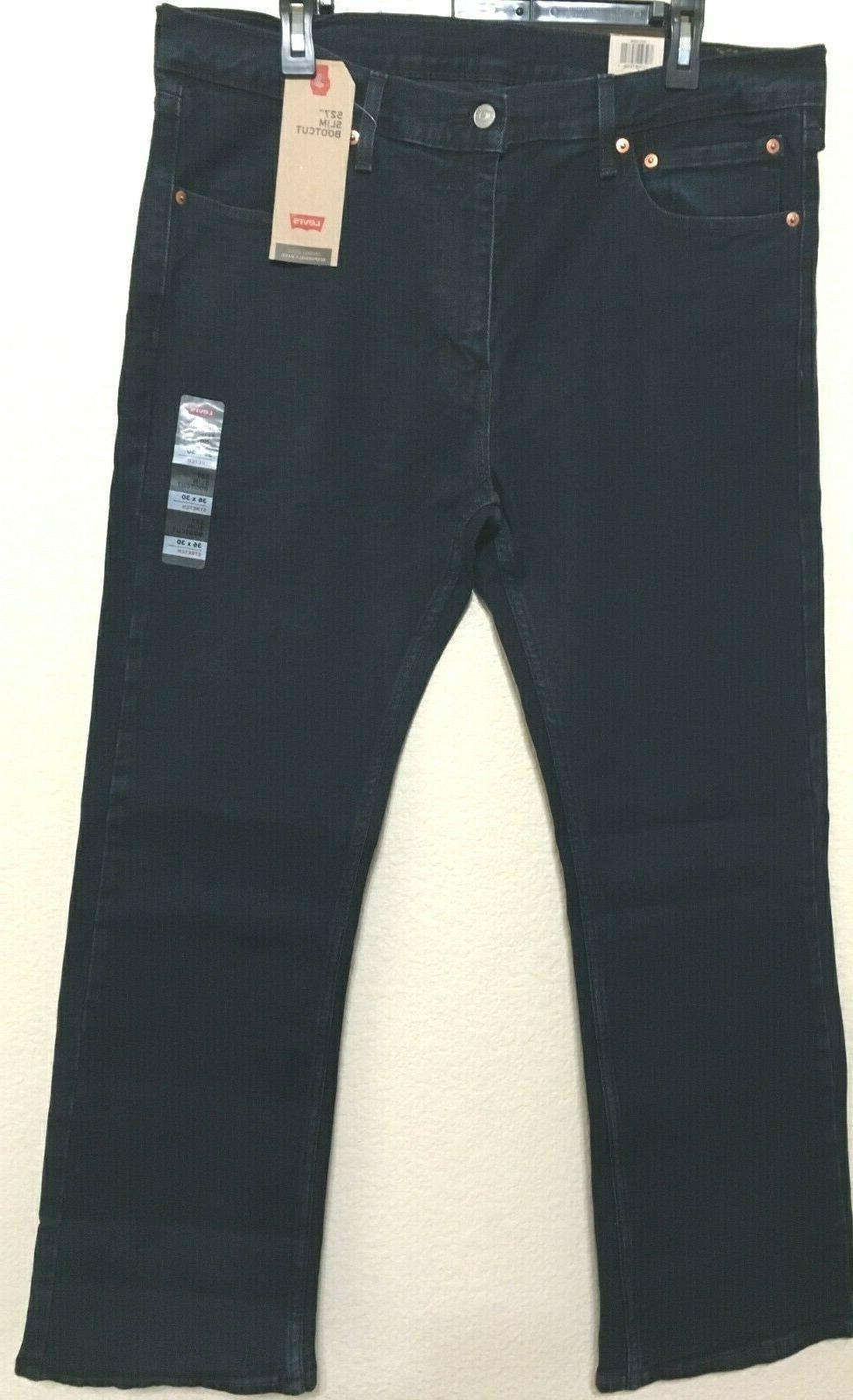 NWT 527 - 0598 STRETCH JEANS DARK BLUE PANT