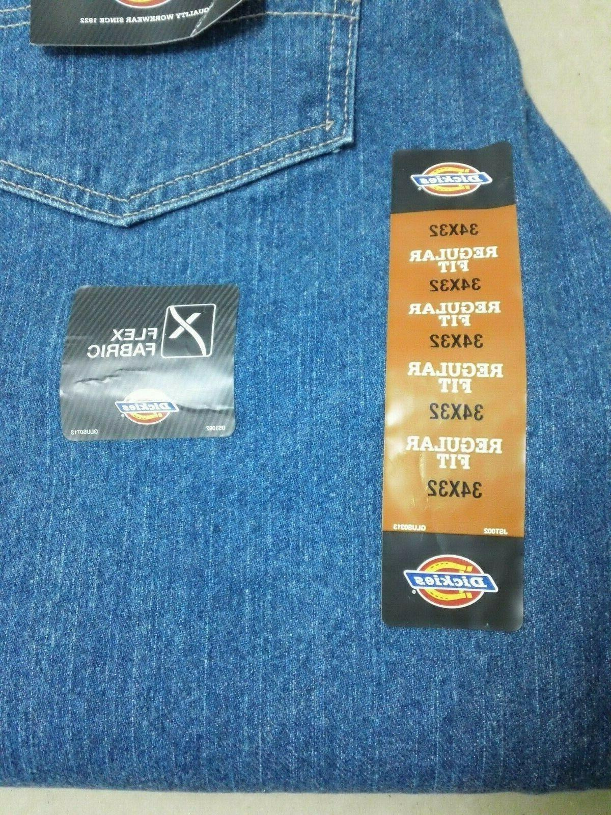 NWT Men's 34X32 5 Fit Work Jeans