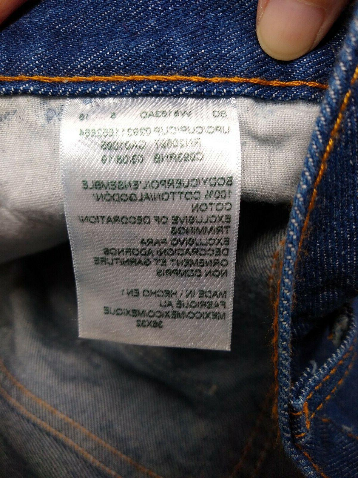 NWT Men's Seconds Jeans 36 x 32