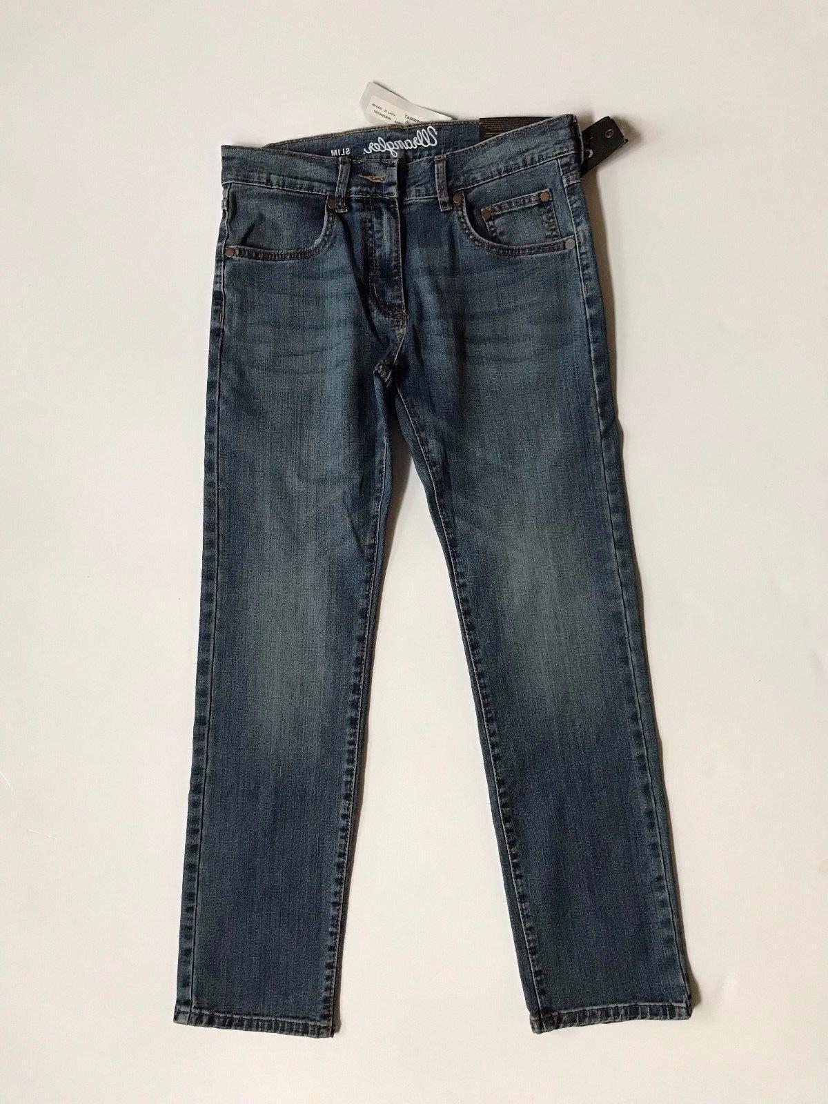 NWT Wrangler Men's Slim Fit Denim Jeans Size 87MW