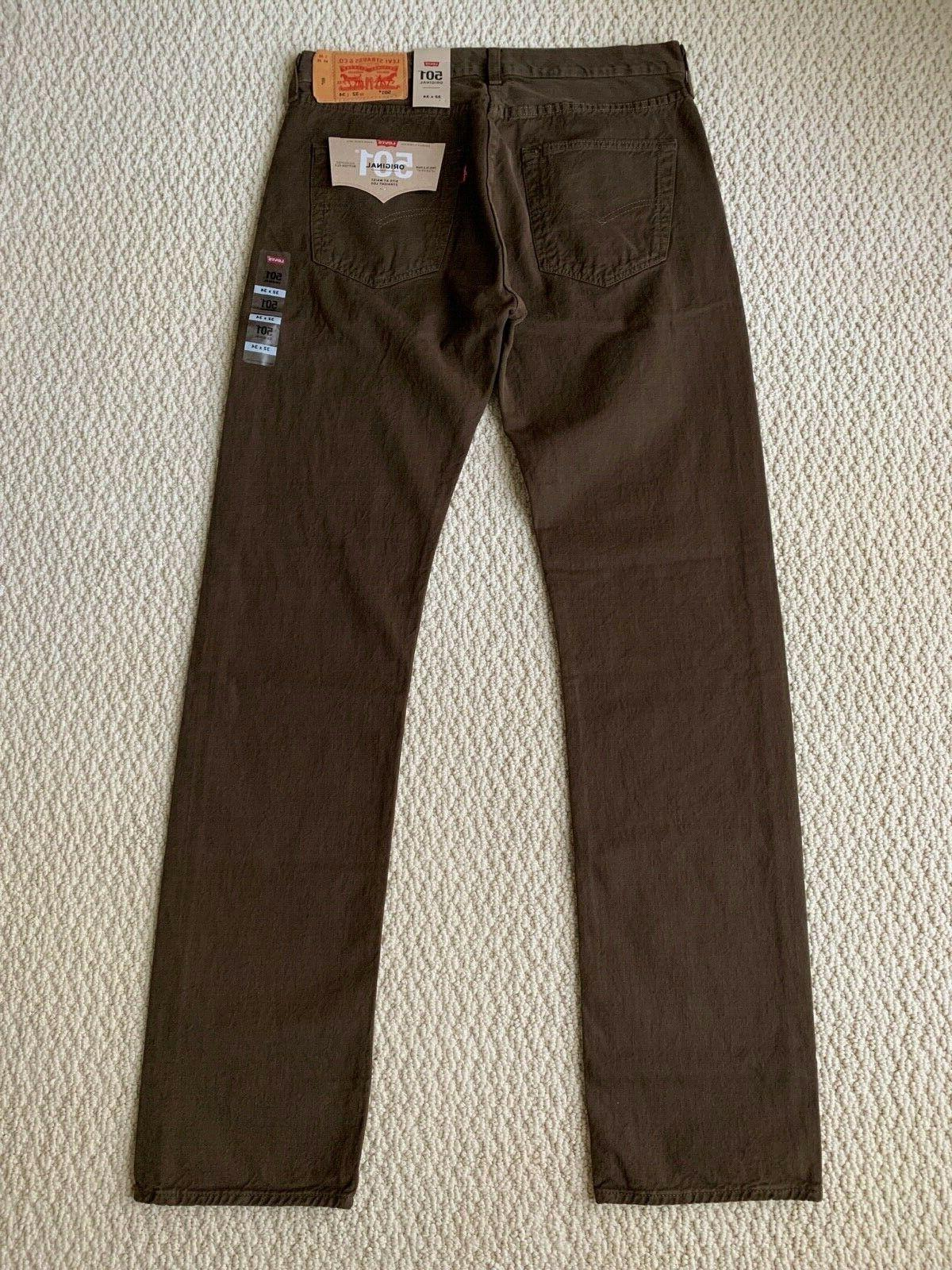 NWT Men's Levi's Original Denim Straight Leg Jeans ALL SIZES