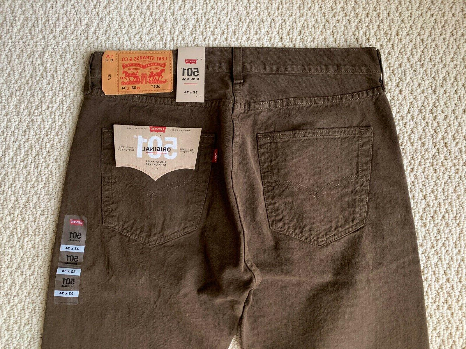 NWT Men's Original Fit Straight SIZES