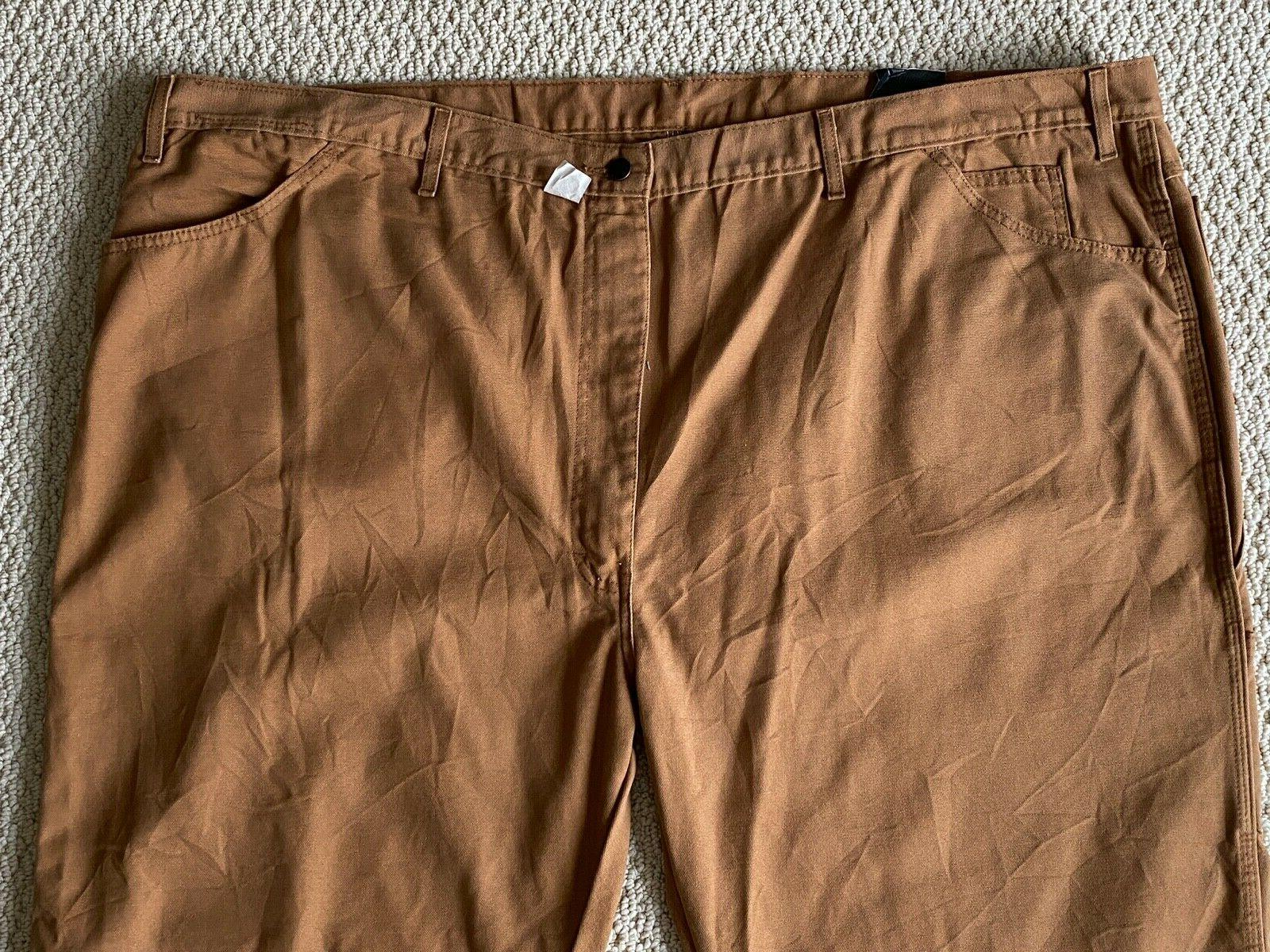 NWT Men's Dickies LU239 Relaxed Brown Jeans 54x30