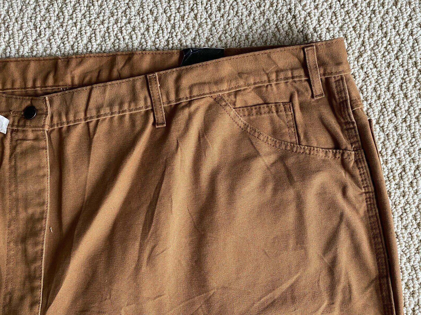 NWT Relaxed Fit Brown 54x30