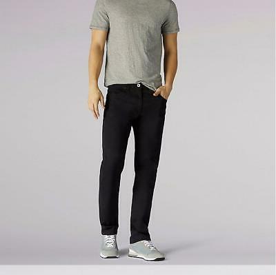 NWT Lee Men's Modern Series Extreme Straight Leg Black