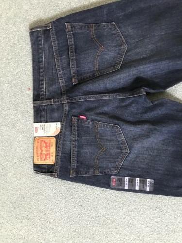 NWT Mens Levi's 527 Slim Bootcut Jeans Dark