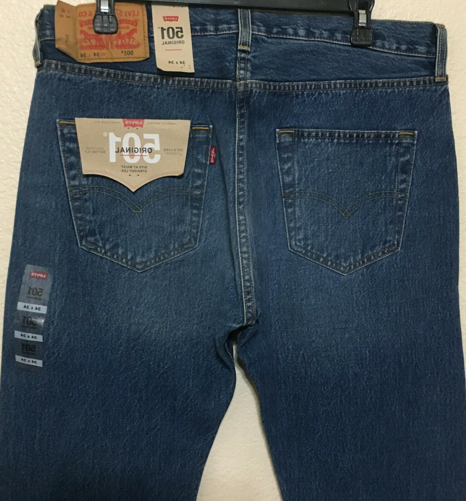 NWT MENS -2487 STRAIGHT JEANS PANT $70