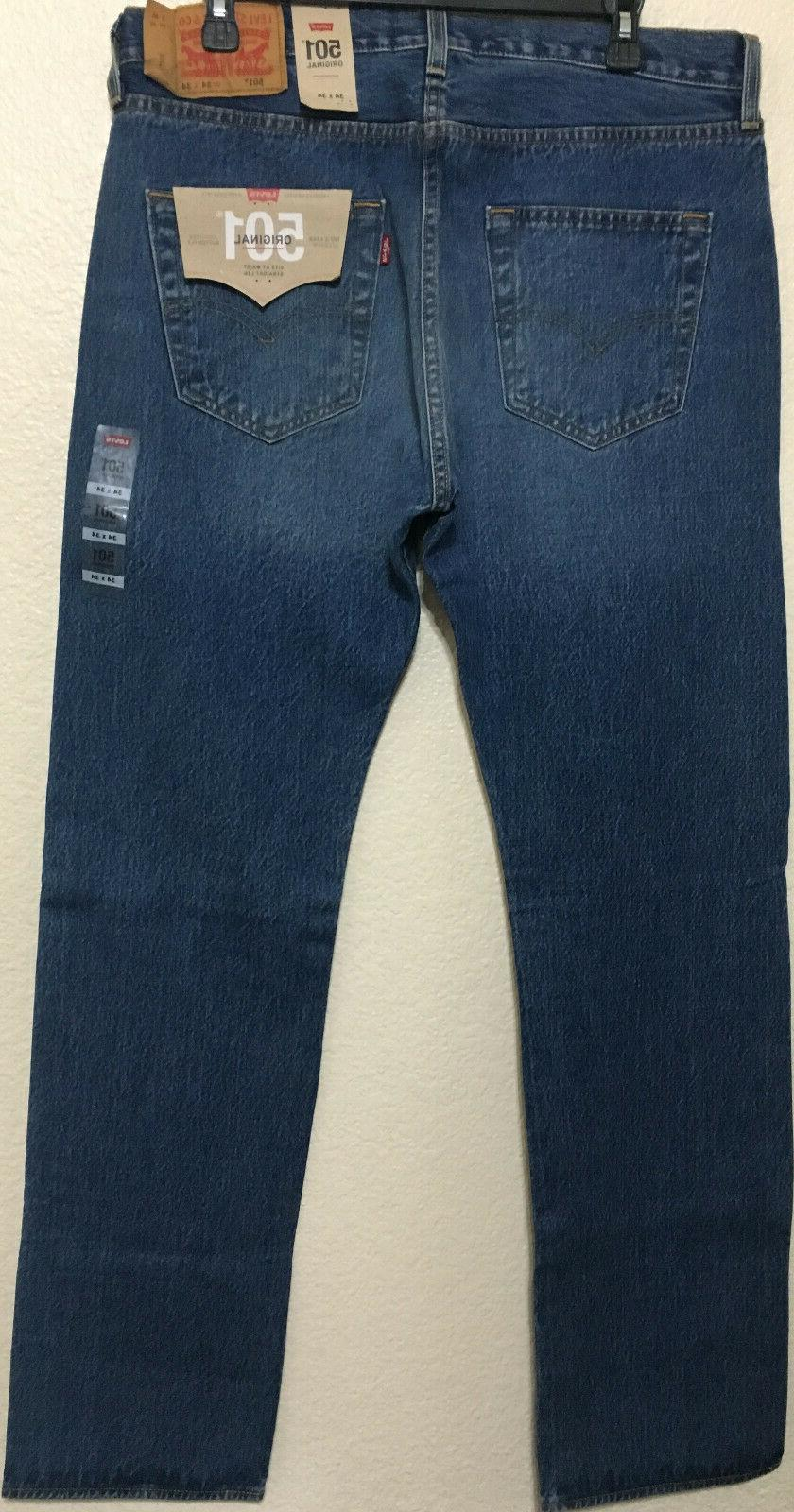 NWT MENS LEVI'S -2487 STRAIGHT BLUE $70