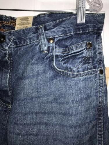 Relaxed Fit Boot Denim Jeans X 32 $58