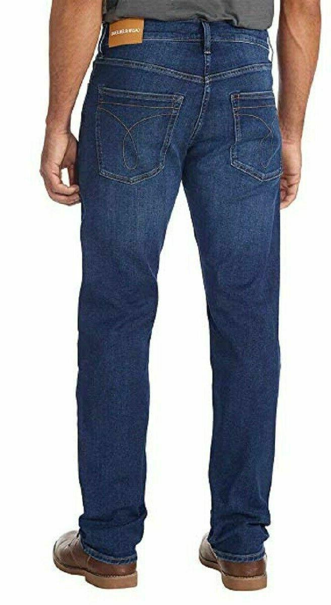 NWT New Men's Straight Blue Jeans 32W 30L